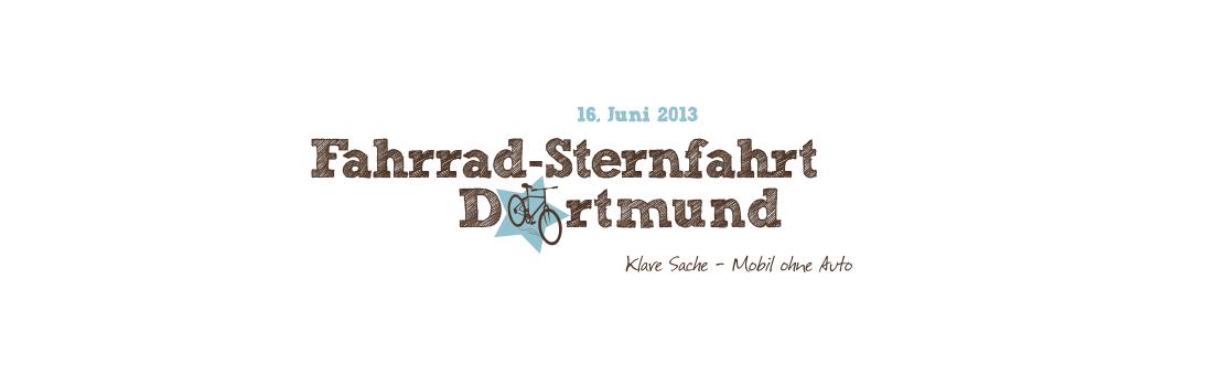 Banner Sternfahrt Dortmund 2013
