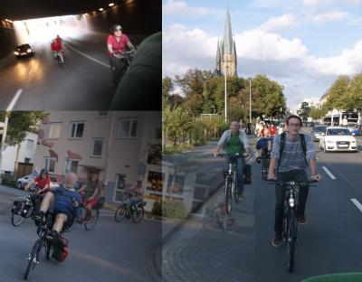 Critical Mass Paderborn August 2015